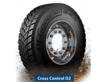 315/80R22.5 BF GOODRICH CROSS CONTROL D2 156/150K